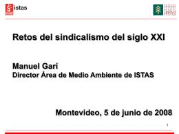 Presentación ppt Manuel Garí
