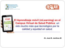 El Campus Virtual de Salud Pública