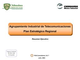 DOCS/Resumen Ejecutivo Telecomunicaciones