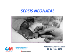 Sepsis 2010 - Pediatría y Neonatología