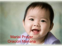 Marial Prayer 08 09 2009 EN