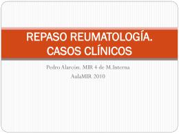 CASOS CLINICOS REUMA REPASO 2 - Aula-MIR