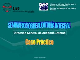 Auditoría Integral Caso Práctico