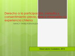 Aplicación del Convenio 169 en Chile: Reflexiones a partir del caso