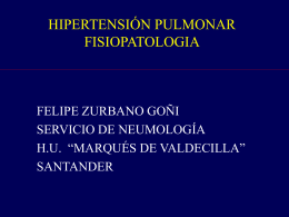 Hipertension Pulmonar 1 caso clinico