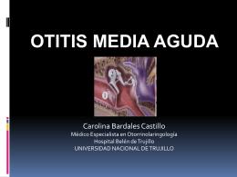 OTITIS MEDIA AGUDA R2 Estefania Mora Chavez