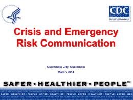Crisis Communication - Bienvenidos a Acervo Salud