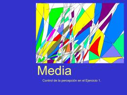 "Concepto de ""Media"""