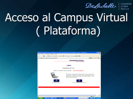 Acceso a Campus Virtual