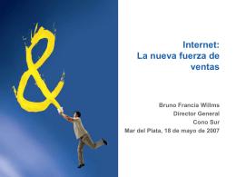 La Nueva Fuerza de Ventas Bruno Francia Willms - Amadeus