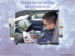 Redes Quad-play Municipales