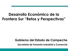 Secretaria de Fomento Industrial y Comercial Gobierno de Campeche