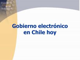 Gobierno Electrónico