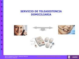 Teleasistencia 2008 - Ayuntamiento de Madrid