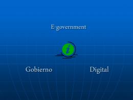 Gobierno+Digital - Sistemas