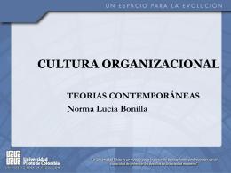 Presentación Cultura Organizacional