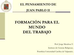 Exposición Profesor Jorge Mendoza