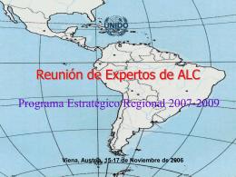 Reunión de Expertos de ALC