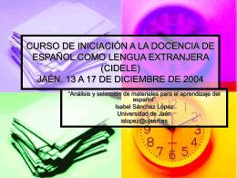 Taller - Universidad de Jaén