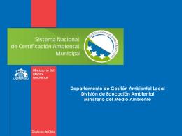 Sistema Nacional de Certificación Ambiental