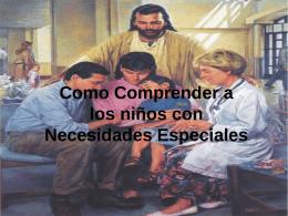 Ninos con Nesesidades Especiales Track 2