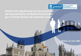 Informe Fondo Estatal - Ayuntamiento de Madrid