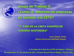Turismo Sostenible - EUROPARC