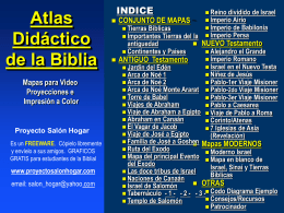 Atlas Biblico/PowerPoint