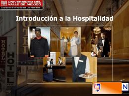 tema 1 - Introduccion-Hospitalidad