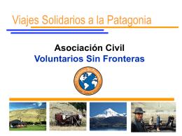 Viaje 1 - Voluntarios Sin Fronteras