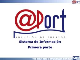 Presentación en formato PowerPoint de Edgar Corao, de @ Port