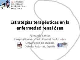 Estrategias terapeuticas en enfermedad osea