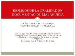 I. CARRASCO III CONGRESO CHARTA