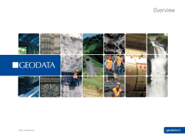 Overview 2011/7 - Gobernación de Antioquia