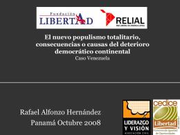 Diapositiva 1 - Fundacion Libertad (Panamá)