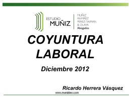 Presentación General Desayuno Diciembre 2012