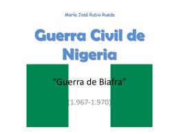 Guerra de Biafra en ppt