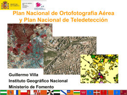 plan nacional de observación del territorio en españa
