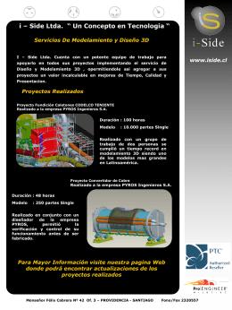 Presentación Servicios realizados por i-Side