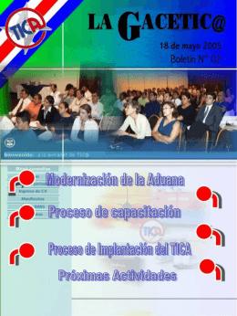 Boletín La Gacetica 2-MAY-2005