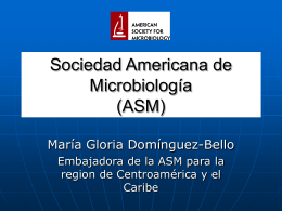 American Society for Microbiology