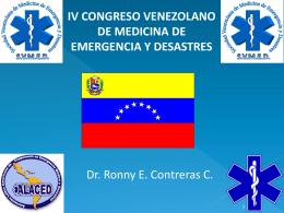 Servicios de Salud ante Situaciones de Emergencias y