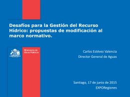 PPT DGA_EXPORegiones Carlos Estevez