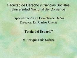 6-tutela-del-usuario - Universidad Nacional del Comahue