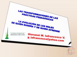 Misión de la escuela Transformadora