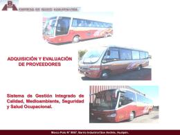 Compra - Buses Hualpén.