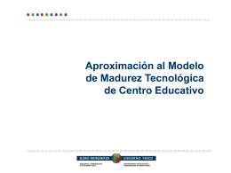 Diagnóstico TIC de Centros Educativos