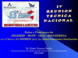 SIS - Digemid - Ministerio de Salud
