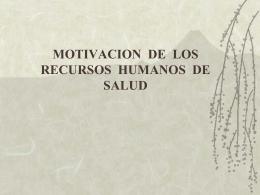motivacion de los rr..