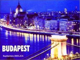 Budapest - Juan Cato